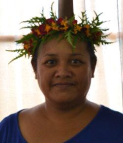 Rhonda Abraham (Kosrae Branch Technical Specialist)