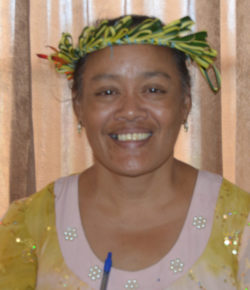 Sonopia Bonochou (Chuuk Branch Collection Clerk)